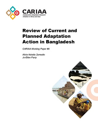 Front page - Working paper 6 - Country baseline for Bangladesh